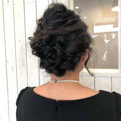 ヘアアレンジ◎ bisou  hair所属・屋比久真里奈のスタイル