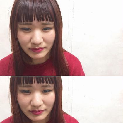 カラー ミディアム Real salon work✂︎ [パッツンbang✂︎deepガーネット]  まっすぐなラインの前髪とウェットな質感。 ハイライト&深ーいワインレッドカラーにグレーmixのブレンド☆   #NAKAIstyle #前髪#パッツン前髪#ウェットバング#ワイドバング#束感前髪#ハイライト#ブリーチ#ガーネットカラー#ワインレッドカラー#赤系カラー#ハイカジュアル#モード#カジュアルモード#お客様カットカラー