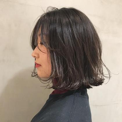 長めバングの色気 山崎優作のショートのヘアスタイル