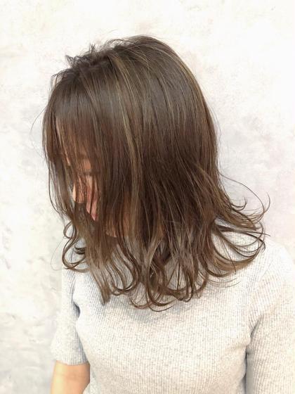【新規】💚前髪カット+フルカラー(イルミナカラーorエドルカラーorアディクシー)+トリートメント