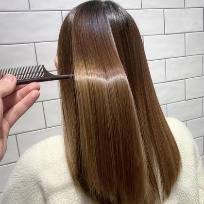 [大人気❗️]髪質改善酸熱トリートメント[初回限定]✨トリートメント付✨