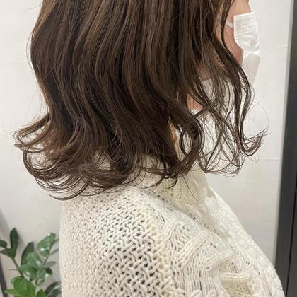 ❤️ワンカラー+髪質改善トリートメント