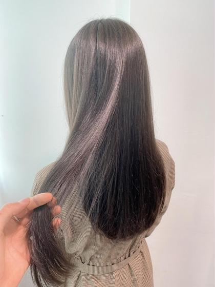 カラー+髪質改善トリートメント (炭酸泉Spa付)