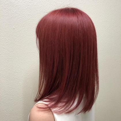カット+オーガニックカラー+髪質改善トリートメント2000円❤️ずっとこの価格でお届決定❣️ロング料金サービス