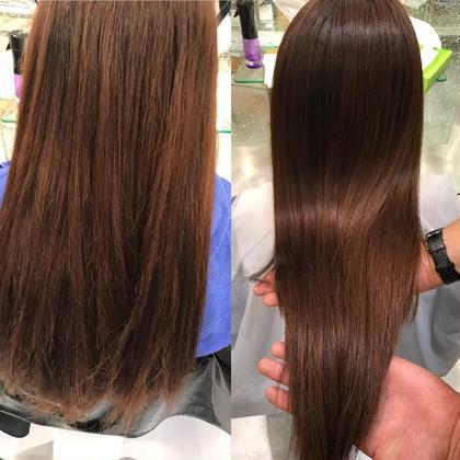 髪質改善トリートメントカラーリング