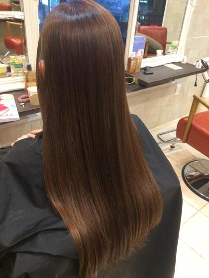 艶っぽいアッシュブラウン☺︎︎ Hair resort  Ai所属・鈴木詩織のスタイル