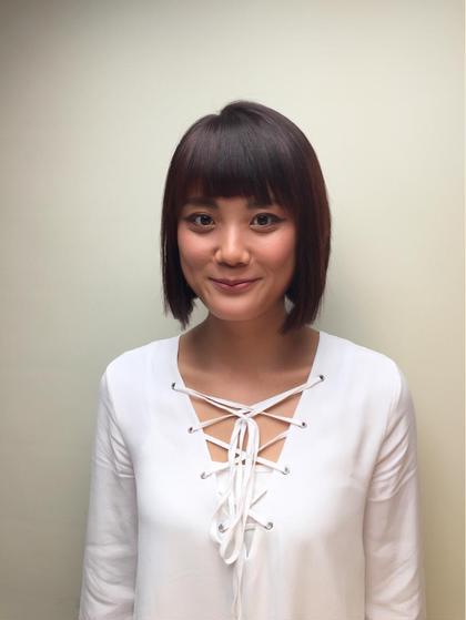 ばっさりショート✂️ すごくお似合いです✨ ループスプラザ日吉店所属・阿部美咲のスタイル