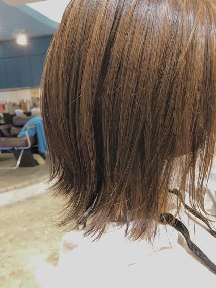 ✨カット+カラー+髪質改善Aujuaトリートメント✨