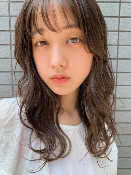 ☁️『平日限定』カット+艶・高発色カラー+トリートメント