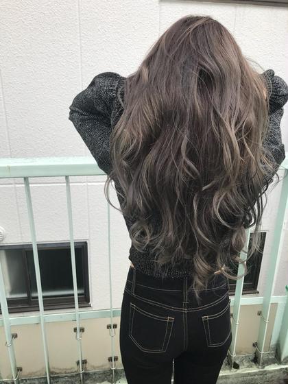 (アッシュ好きの赤みを消したいあなたへ)✨カット & スロウカラー & 髪質改善トリートメント✨