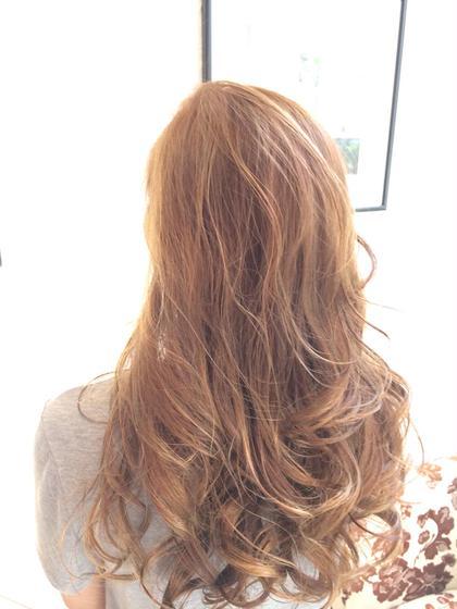 人気カラー 外国人風♪全体に細かなハイライト グレージュ HAIR&MAKE    EARTH横浜店所属・EARTH横浜店のスタイル