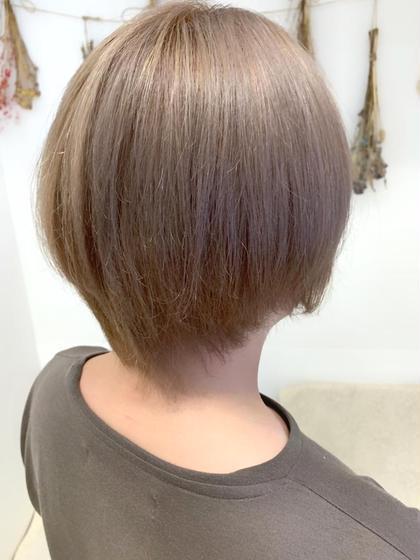髪質改善カラー&髪質改善トリートメント
