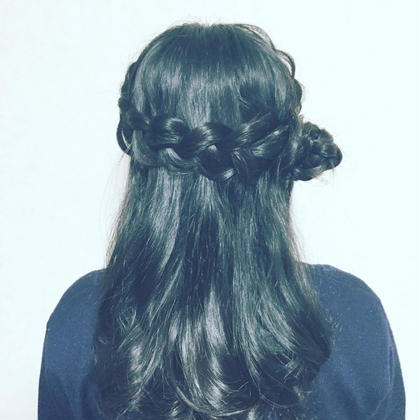 5分くらいでできる簡単アレンジ❤️ hair makeMIKI所属・AIMI♡...*゜のスタイル