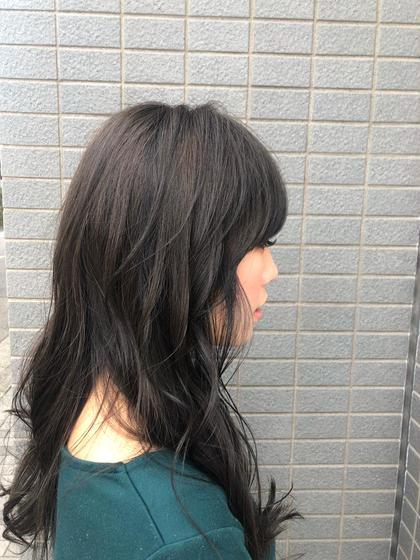 カット&透明感カラー×Aujuaトリートメント(5分スパ付き)