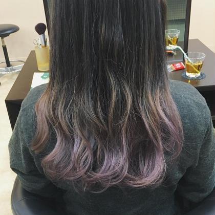 【平日限定】ケアブリーチ透明感カラー