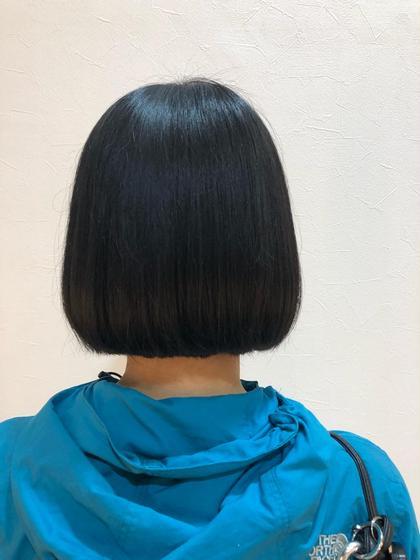 後ろ姿です! 後藤彩のショートのヘアスタイル