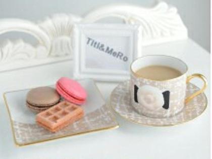 お飲み物やお菓子も嬉しい☺ TITI&MERO所属・山原由莉子のフォト