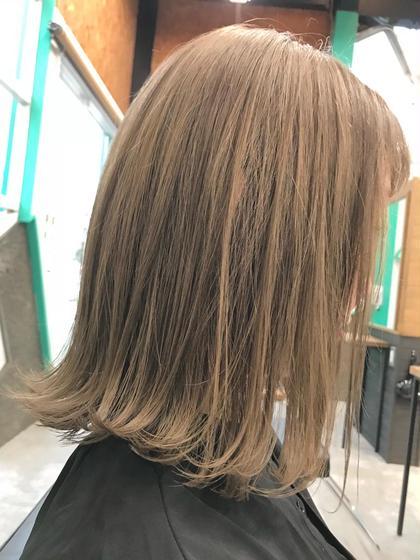 ⭐️透明感抜群シースルーヘアカラー&髪質改善トリートメント✨