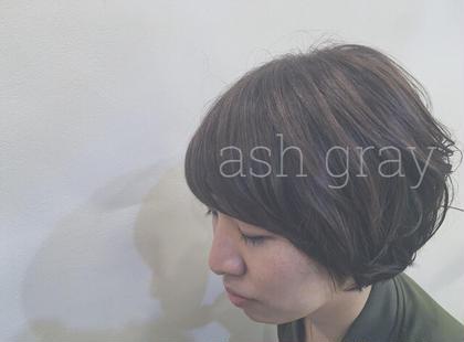 透明感がでて良い感じに アッシュグレー antheM所属・イガラシリナのスタイル