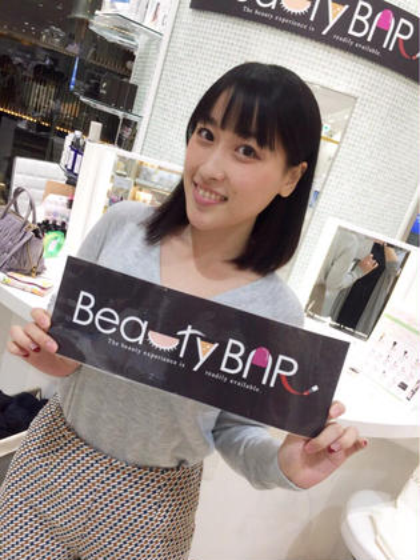 その他 ネイル グラビアアイドル速水ゆきさん来店♡ フェイシャルエステでお肌改善(╹◡╹)