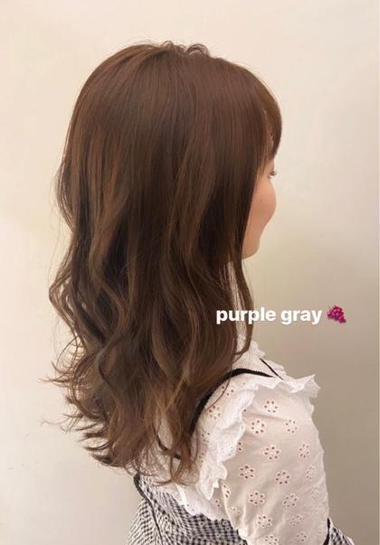 【前髪カット付】透明感カラー+ハホニコラメラメトリートメント