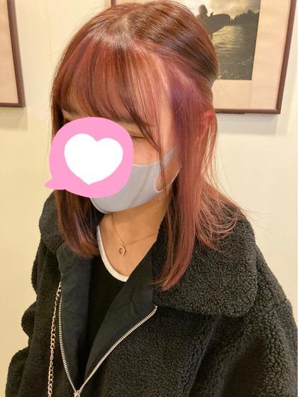 🦄マスクしててもオシャレ髪🦄フェイスフレーミング+アドミオ、イルミナカラー+トリートメントコース【ケアブリーチ使用】