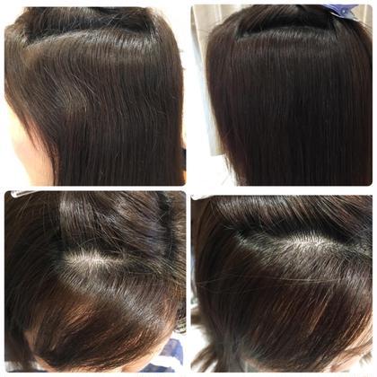 生え際の癖を自然に伸ばします! Hair Design juliet(ヘアデザイン ジュリエ)所属・山尾奈津美のスタイル