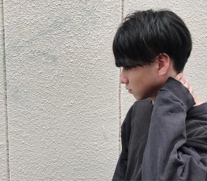 メンズカット✂︎ 重めの前髪! As hair所属・砂走真希のスタイル