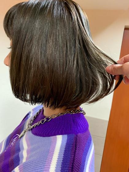 ‼️学生限定‼️前髪カット+透明感カラー+シルクトリートメント🌟