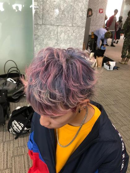 earth扶桑店所属の大沼啓のヘアカタログ