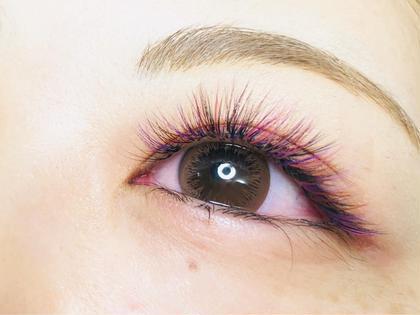 eyelash&nail  LINOA所属のakのマツエクデザイン