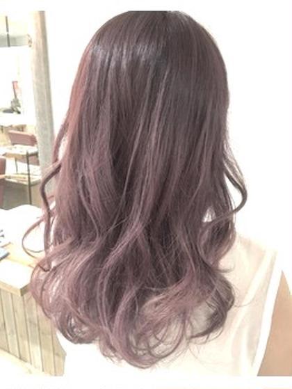 バイオレットラベンダーグラデーション★ hair design Norm所属・奥原穂南のスタイル