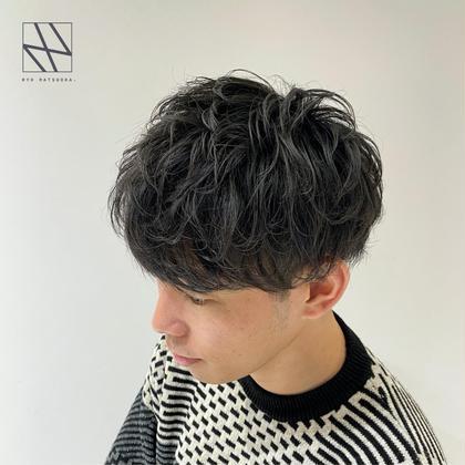✨⚡️仕上がりしっとり持ちも◎⚡️✨ダメージレスパーマ💥+似合わせ束感カット🔥+髪質改善4STEPトリートメント🌿