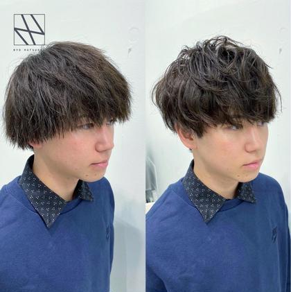 🌿💕2時間後には別人に!💕🌿似合わせ小顔デザインカット+ナチュラルパーマ+髪質改善4STEPトリートメント🌿