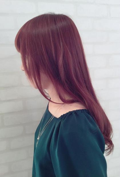 【髪に優しい】ナシードカラー&トリートメント⭐️