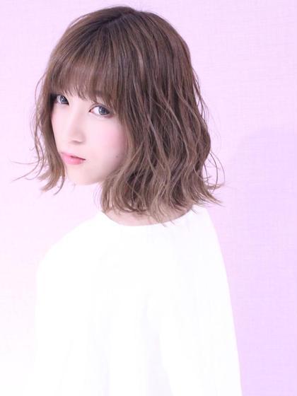 【#夏キュン】可愛いは作れる⭐️カット+カラー+ぷちトリートメント