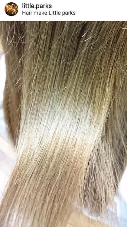 髪美人ボリュームupヘッドスパでまとまりある髪へ little parks所属・.SHIOのスタイル