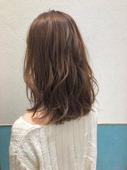🌈✨人気No.1✨1日3名様限定🌈】小顔前髪カット & 低ダメージカラー✨ & 集中補修トリートメント