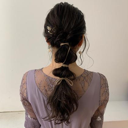 ❤︎簡単 hair arrange