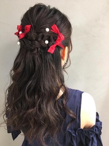 ライブヘアセット♡ 結婚式、二次会のヘアセットのご予約も受付中! Neolive  susu所属・アイリスト兼美容師❣齋藤彩のフォト