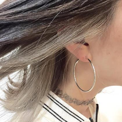隠れお洒落な耳上インナーカラー( ´・ω・`) あなたもお洒落に楽しく(՞ټ՞☝ Ursus hair Design 広島本通店所属・藤本淳一のスタイル