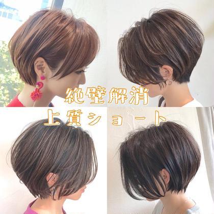🌈似合わせショートカット🌈💎髪質改善最高級Aujuaトリートメント💎