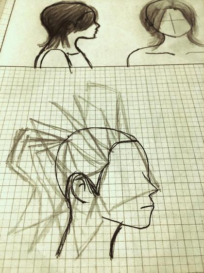 頭の丸みに合わせたカットによる立体感の表現! 梳いて髪を減らしてもスタイルの持ちが◎ ⬆︎◯◯ー◯⚪︎所属・◉かさひろゆきのスタイル