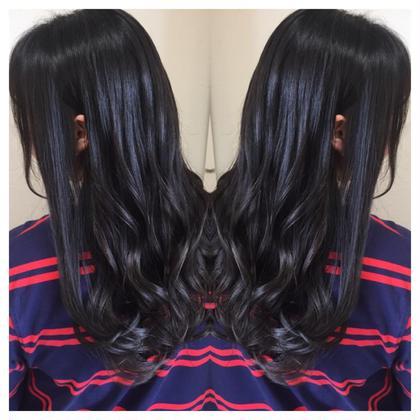 ✨派手髪から暗髪にイメチェン✨❣️ダークトレンドカラー❣️