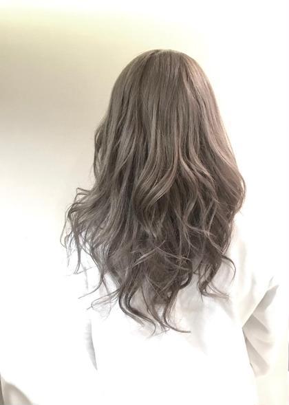 カット & イルミナカラー & トリートメント&巻き髪サービス