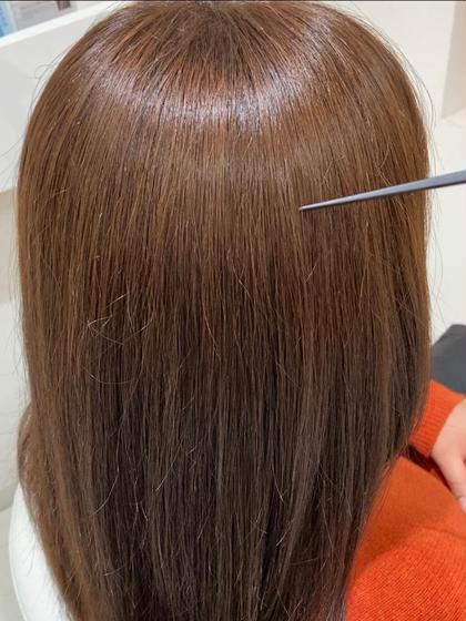 【最高級✨プレミアム最新技術】カット➕白髪を増やさないカラー【イルミナカラー】