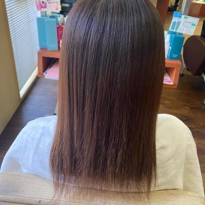 💚ワンカラー💙+《 髪質改善 》水素トリートメント✨