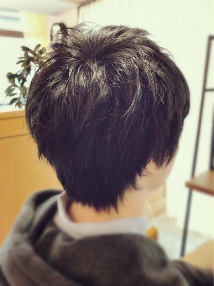 ショート ☆束感ショート☆  ワックスで無造作に!カッコ良くキマルヘア!