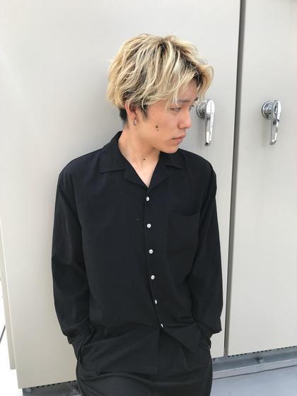♦︎ men's似合わせカット & Wカラー&炭酸スパ