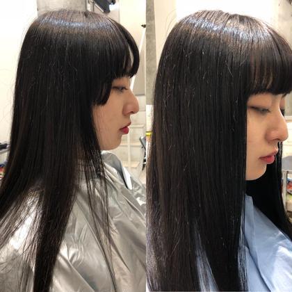 ヘアアレンジ ロング 伸ばし中の髪もあっという間に伸びます!